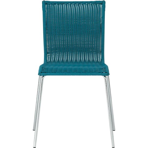 Kitchenette Teal Stack Chair