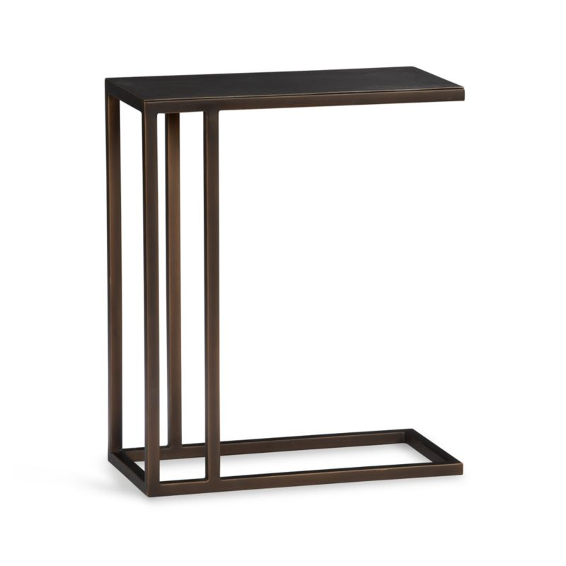 Echelon C Table In Coffee Tables Side Tables Crate And Barrel