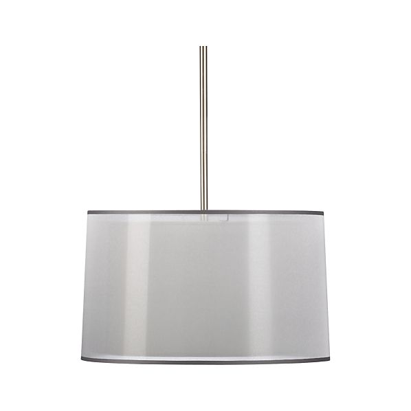 Eclipse Silver Pendant Lamp