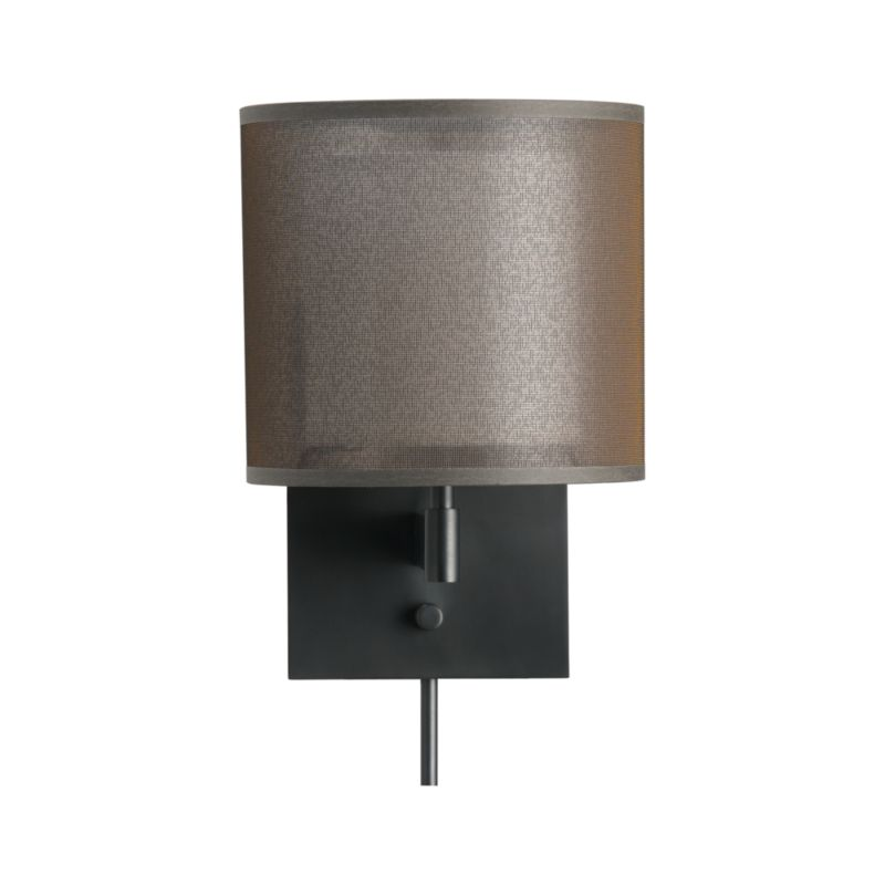 Wall Lamps Crate And Barrel : Eclipse Antiqued Bronze Wall Sconce Crate and Barrel