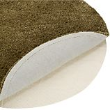 EcoPlus 66&quot; Round Rug Pad