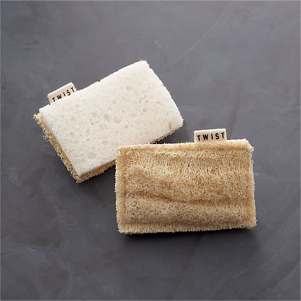 Eco Scrubber Sponge Set of Two