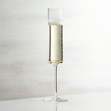 Edge Champagne Glass