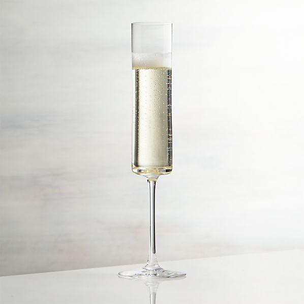 Edge Champagne Glass