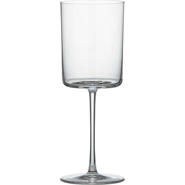 edge 13 oz wine glass crate and barrel. Black Bedroom Furniture Sets. Home Design Ideas