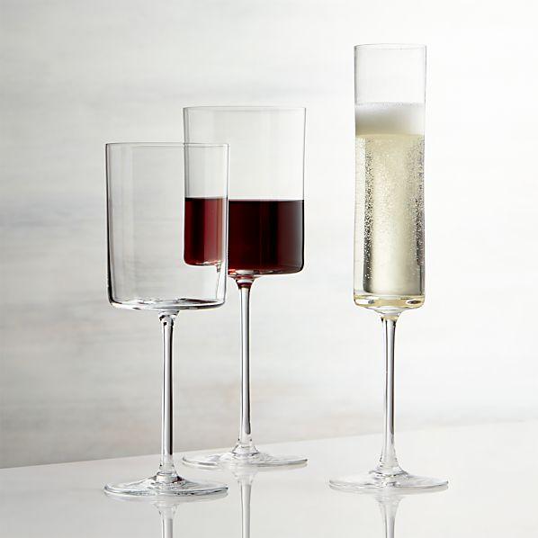 Edge Wine Glasses