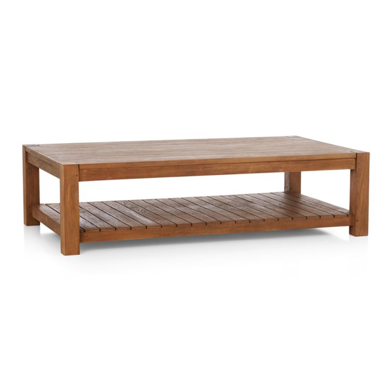 edgewood rectangular coffee table in coffee tables side