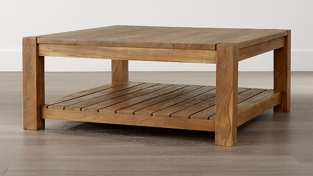 Edgewood Square Coffee Table In Tables amp Side
