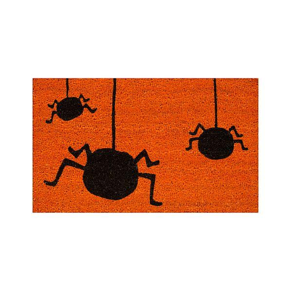 """Eeek A Spider 30""""x18"""" Doormat"""