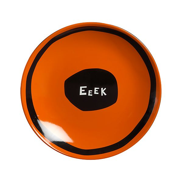 Eeek A Spider Plate