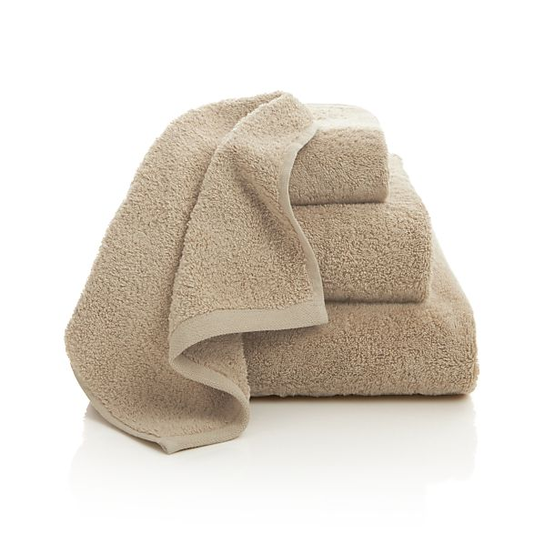 Sand Egyptian Cotton Bath Towels