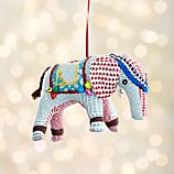 Elephant with Bells Ornament
