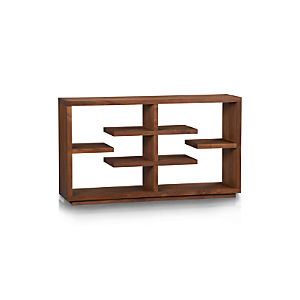 "Elevate Walnut 32"" Bookcase"