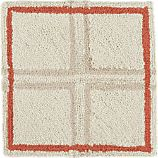 "Elias Orange 12"" sq. Rug Swatch"