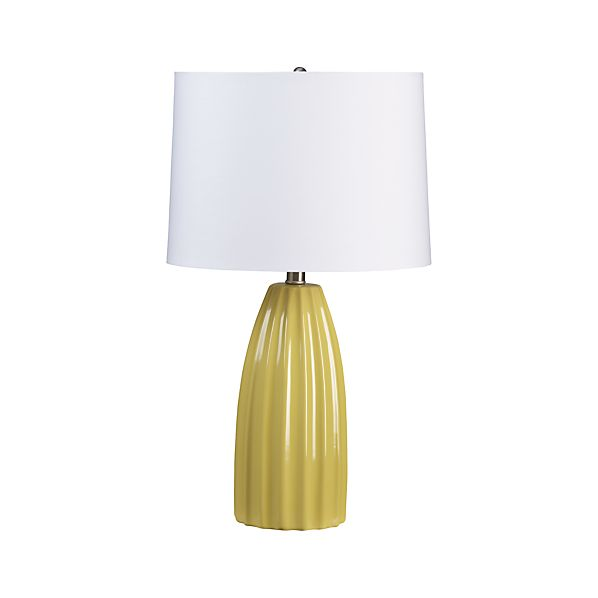 Ella Yellow Ceramic Table Lamp