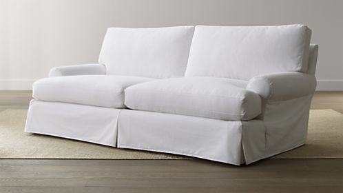 Ellyson Petite Slipcovered Sofa