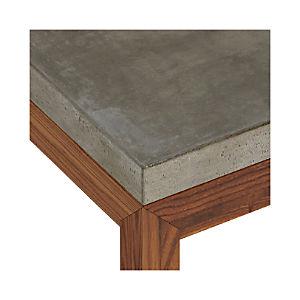 Concrete Top/ Elm Base Dining Tables