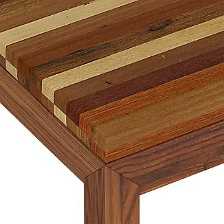 Reclaimed Wood Top/ Elm Base Dining Tables