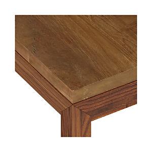 Teak Top/ Elm Base Dining Tables