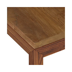 Teak Top/ Elm Base Dining Tables