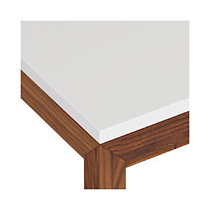White Top/ Elm Base Dining Tables