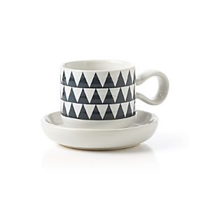 Elsa Espresso Cup with Saucer