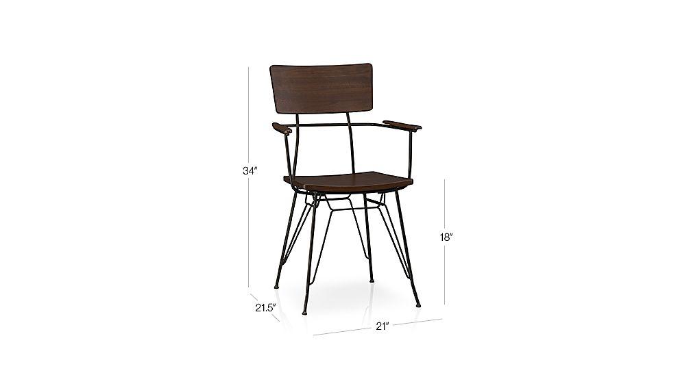 Elston Arm Chair Dimensions