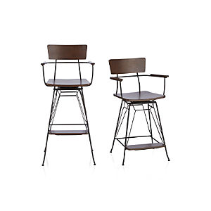 Elston Swivel Bar Stools