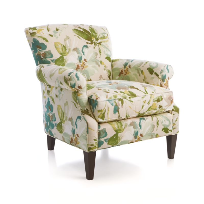 Elyse Chair Mist Crate And Barrel