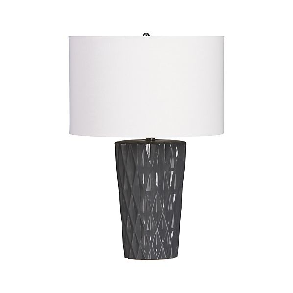 Emery Grey Table Lamp
