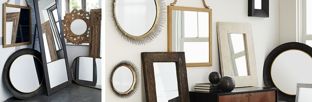 Mirrors Full Length And Decorative Crate And Barrel