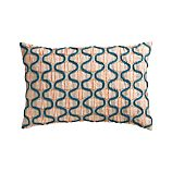 "Emmit 18""x12"" Pillow with Feather-Down Insert"