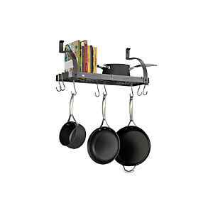 Enclume® Bookshelf Pot Rack