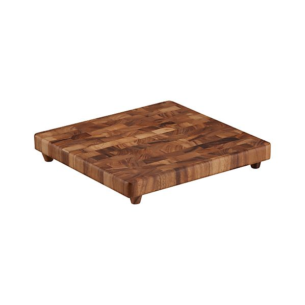 End Grain Chopping Board in Cutting Boards | Crate and Barrel