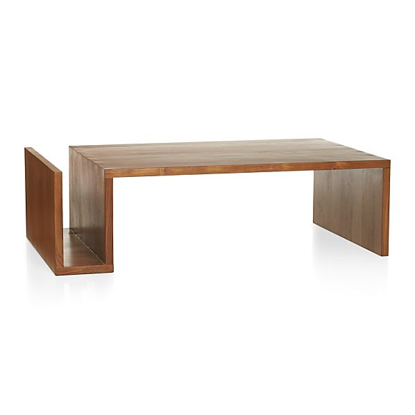Entu Coffee Table In Coffee Tables Side Tables Crate And Barrel