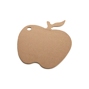 Epicurean® Natural Dishwasher-Safe Apple Cutting Board
