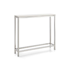 Era Limestone Console Table