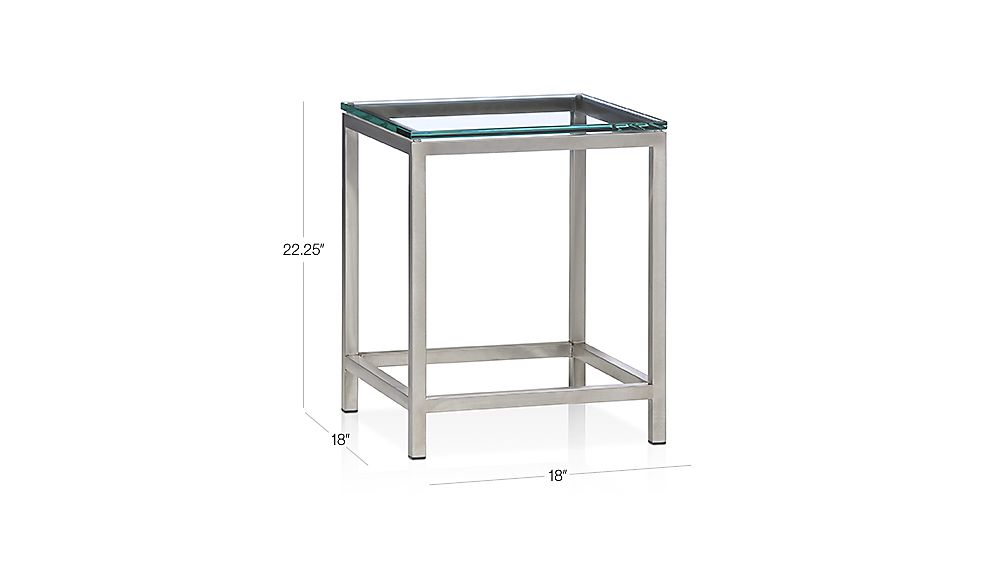 Era Side Table Dimensions