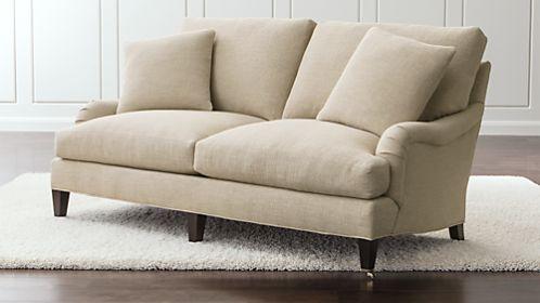 Essex Apartment Sofa with Casters