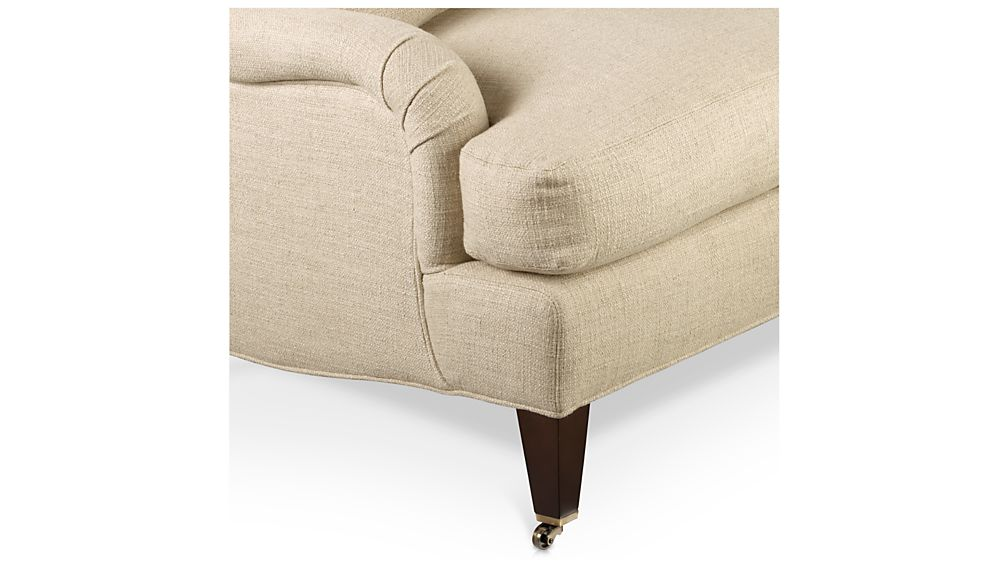 Essex Left Arm Sofa with Casters