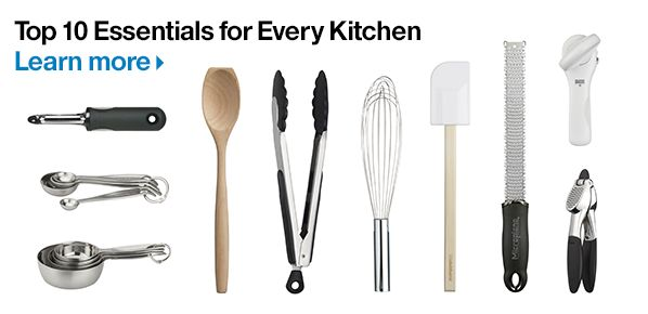 Top 10 Essentials for Every Kitchen