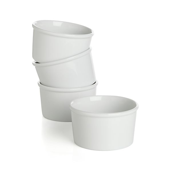 "Every 4.25"" Ramekin Bowls Set of Four"