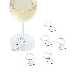 Everyday Word Wine Charms Set of Six