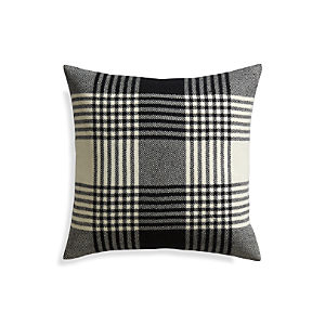 "Fala Plaid 23"" Pillow"