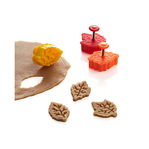 3-Piece Fall Piecrust Cutter Set
