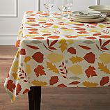"Fallen Leaves 60""x144"" Tablecloth"