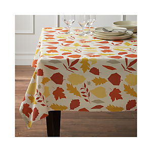 Fallen Leaves Tablecloth