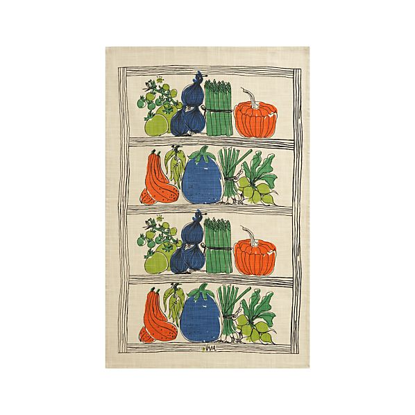Farmer's Market Dishtowel