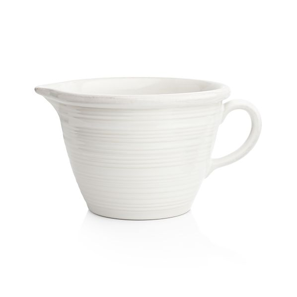 Farmhouse White Batter Bowl