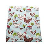 Farmhouse Hen Dishtowel